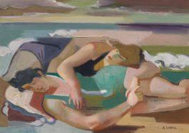 Andre Lhote-Sur La Plage, Les Deux Amies-1928
