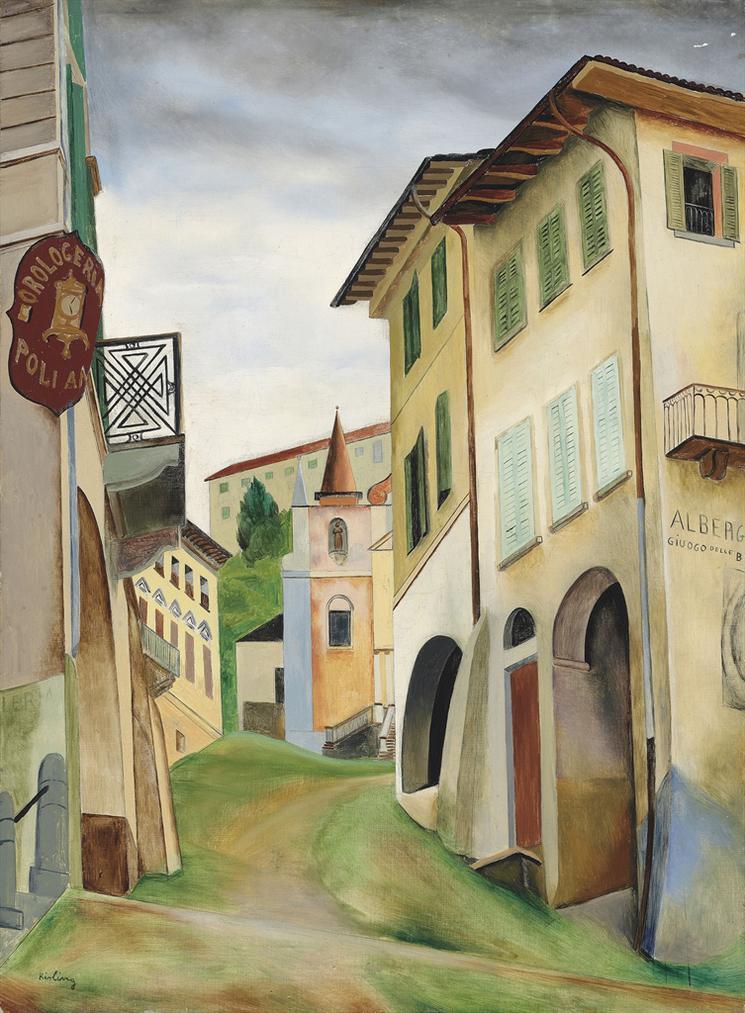 Moise Kisling-Lalbergo-1922
