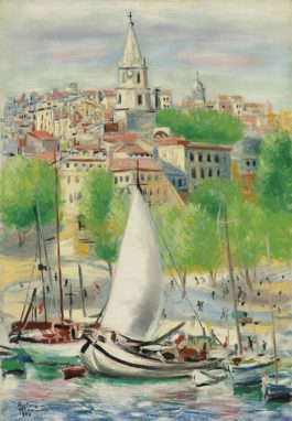 Moise Kisling-Marseille-1948