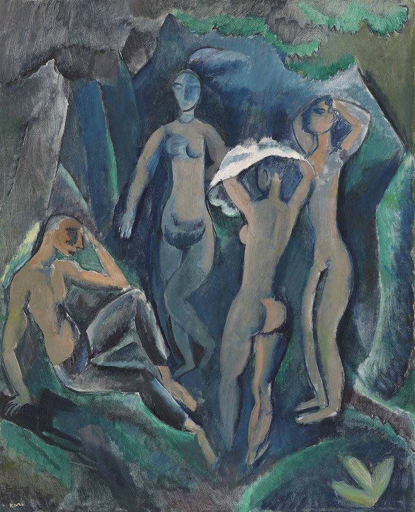 Georges - Les Baigneuses (The Judgement Of Paris)-1912