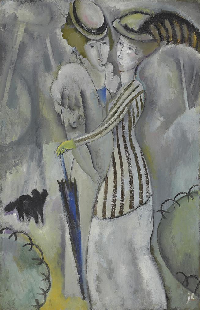 Jean Lurcat-Promenade Au Parc-1920