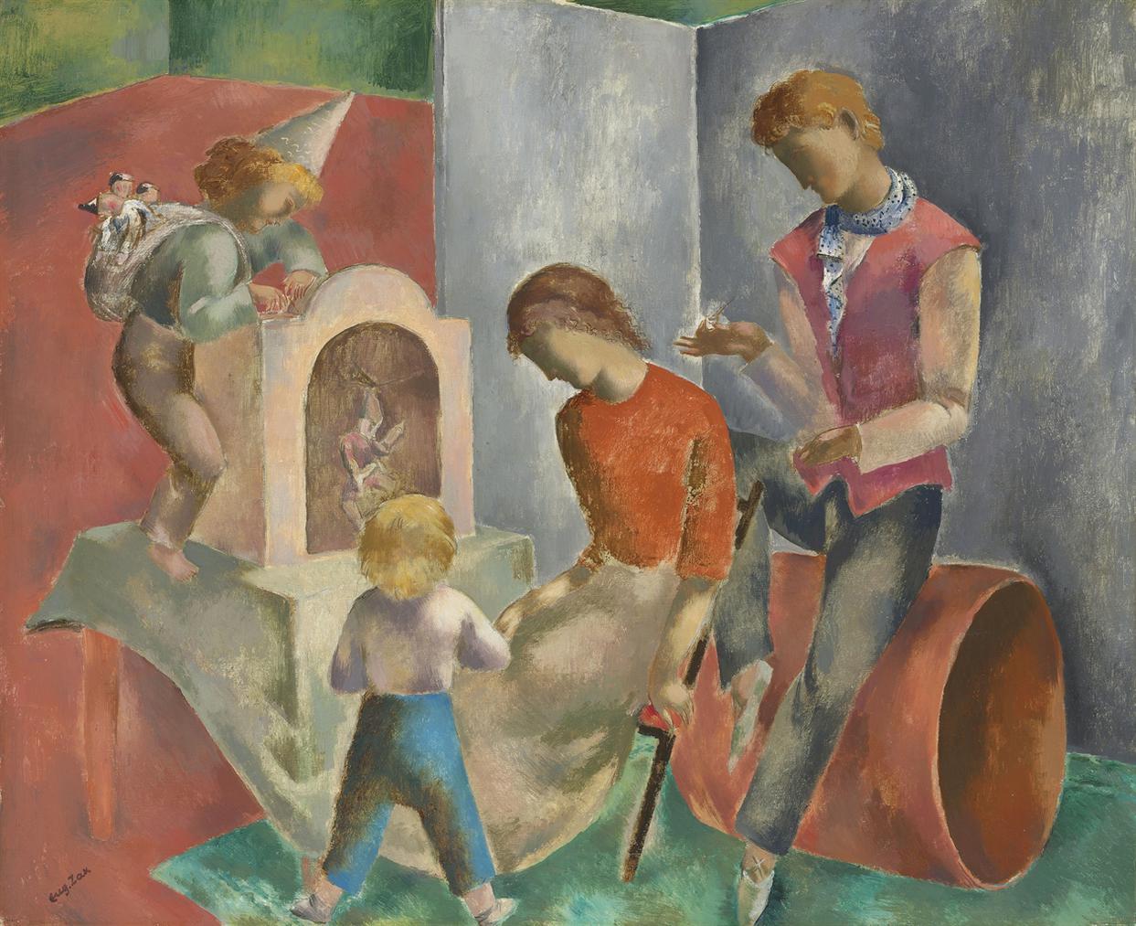 Eugene Zak - Les Marionnettes-1924