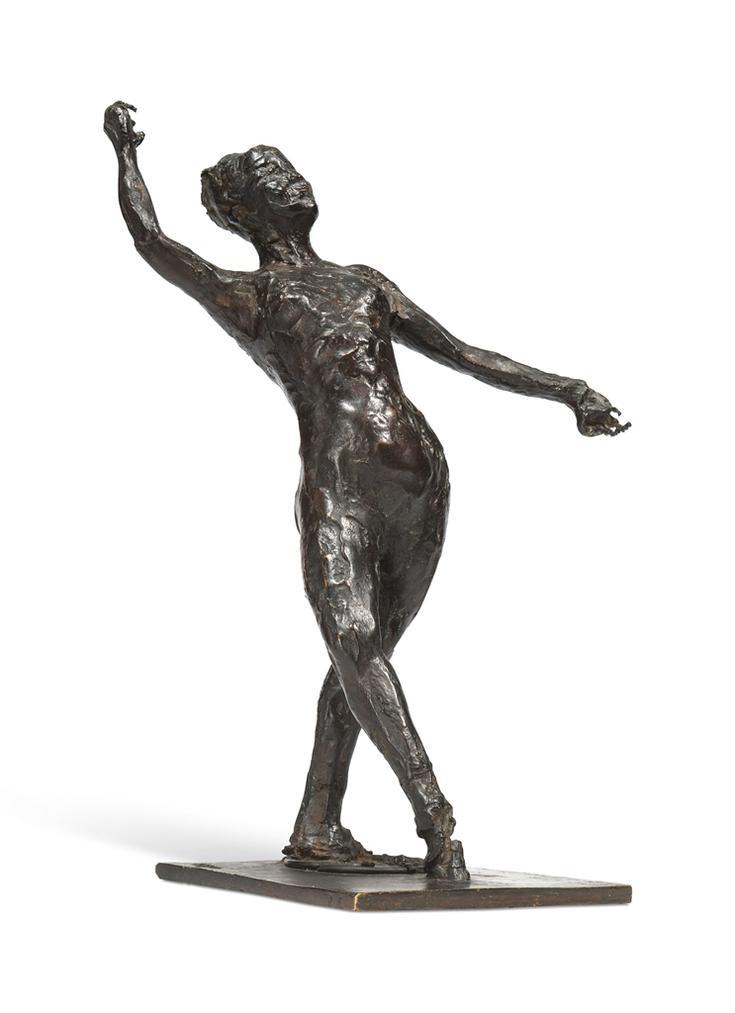 Edgar Degas-Danseuse Au Tambourin-1895