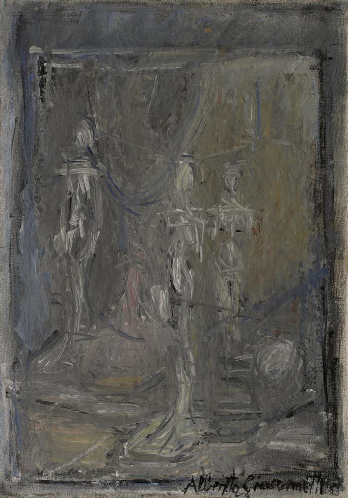 Alberto Giacometti-Figurines-1954