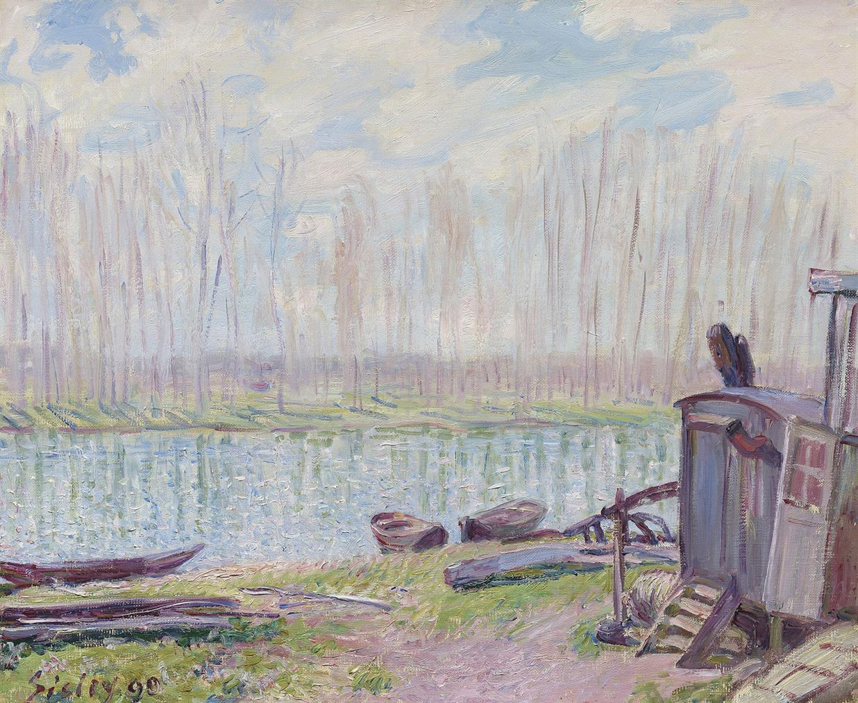 Alfred Sisley-Bords Du Loing-1890