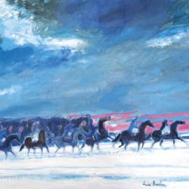 Andre Brasilier-Chevauchee Hivernale-2016