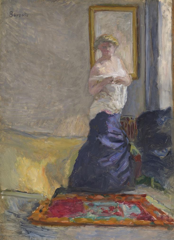 Pierre Bonnard-Jeune Femme Se Deshabillant-1907