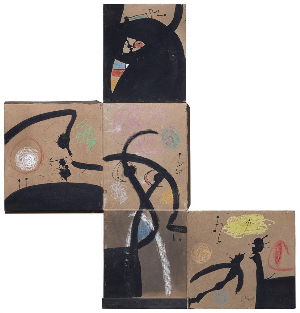 Joan Miro-Peinture-1976