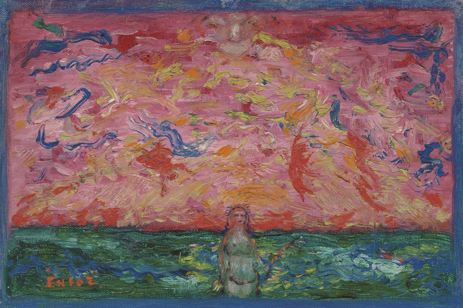 James Ensor-La Naissance De Venus-1939