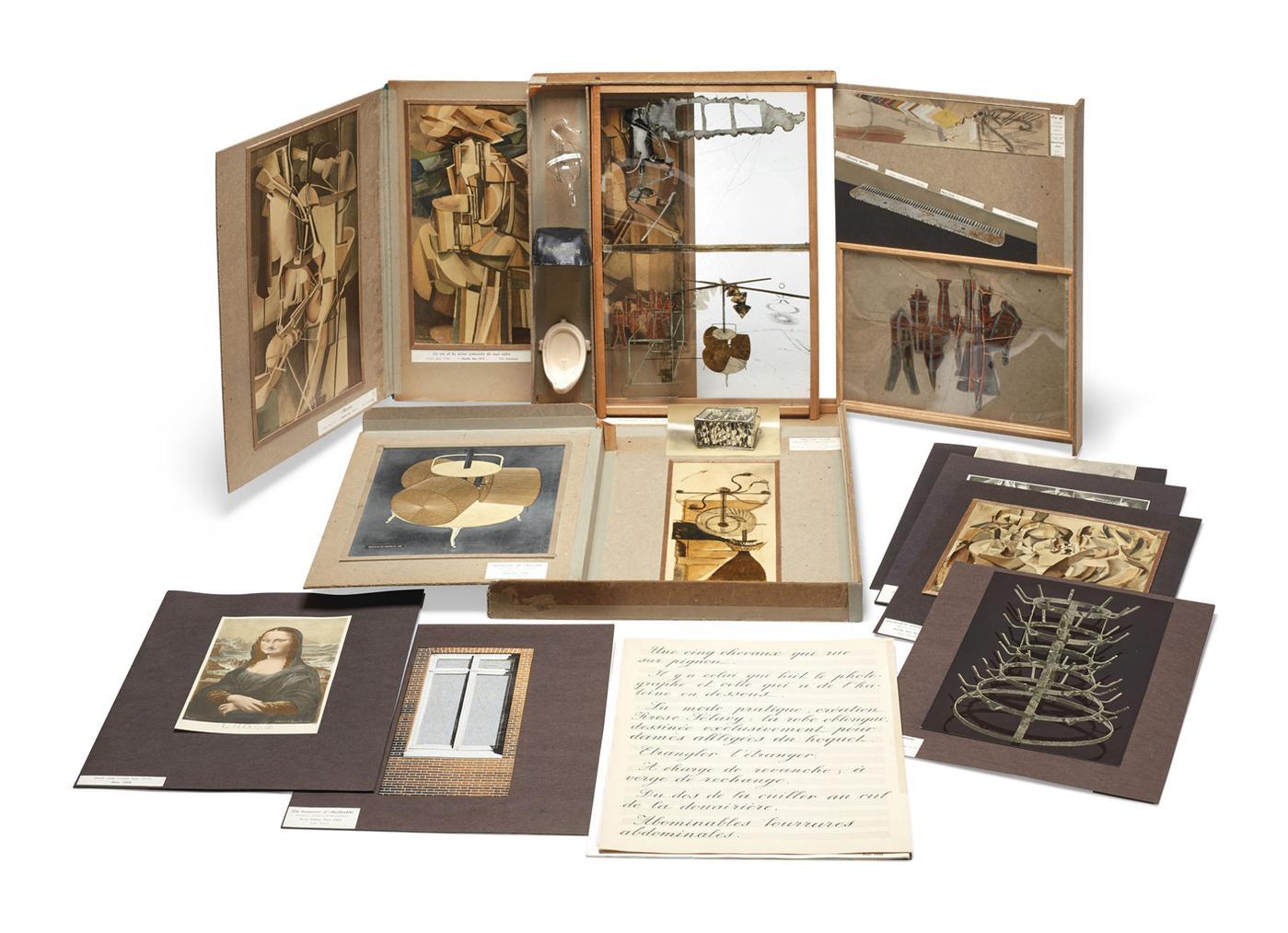 Marcel Duchamp-De Ou Par Marcel Duchamp Ou Rrose Selavy (La Boite En Valise), Series B-
