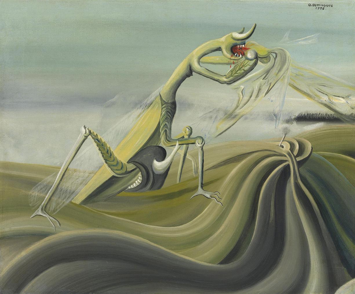 Oscar Dominguez-La Mante Religieuse-1938