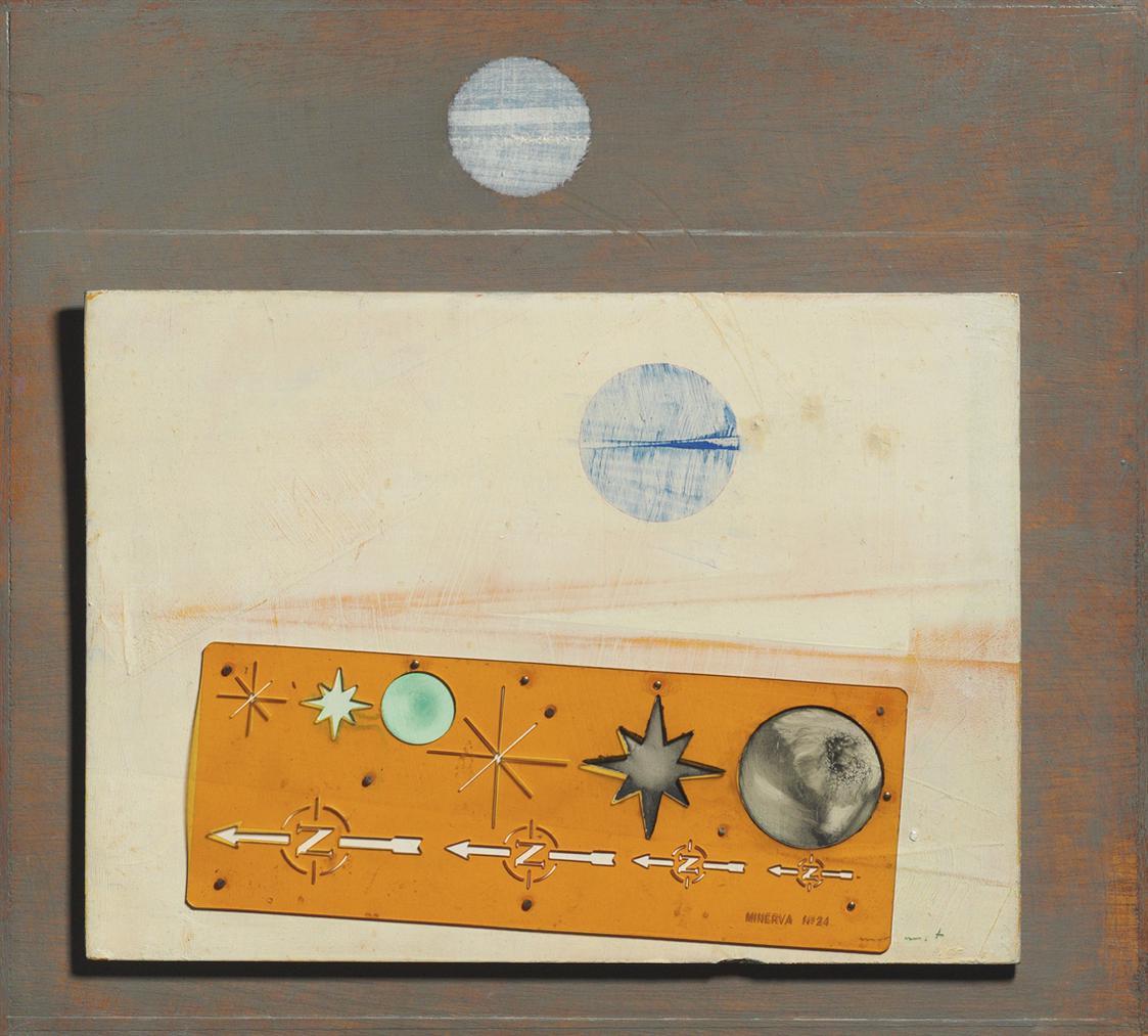 Max Ernst-Table Dorientation (Or Magie Blanche)-1967