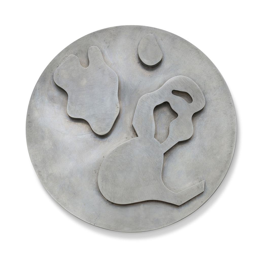 Jean Arp-Composition Dans Un Cercle No. 5-1963