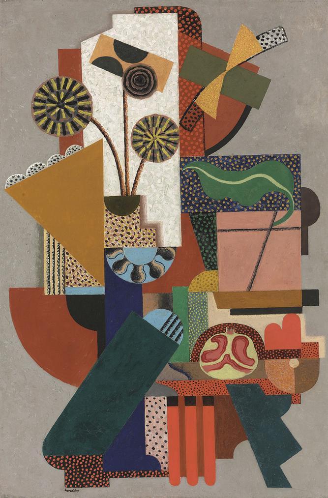 Auguste Herbin-Composition-1916