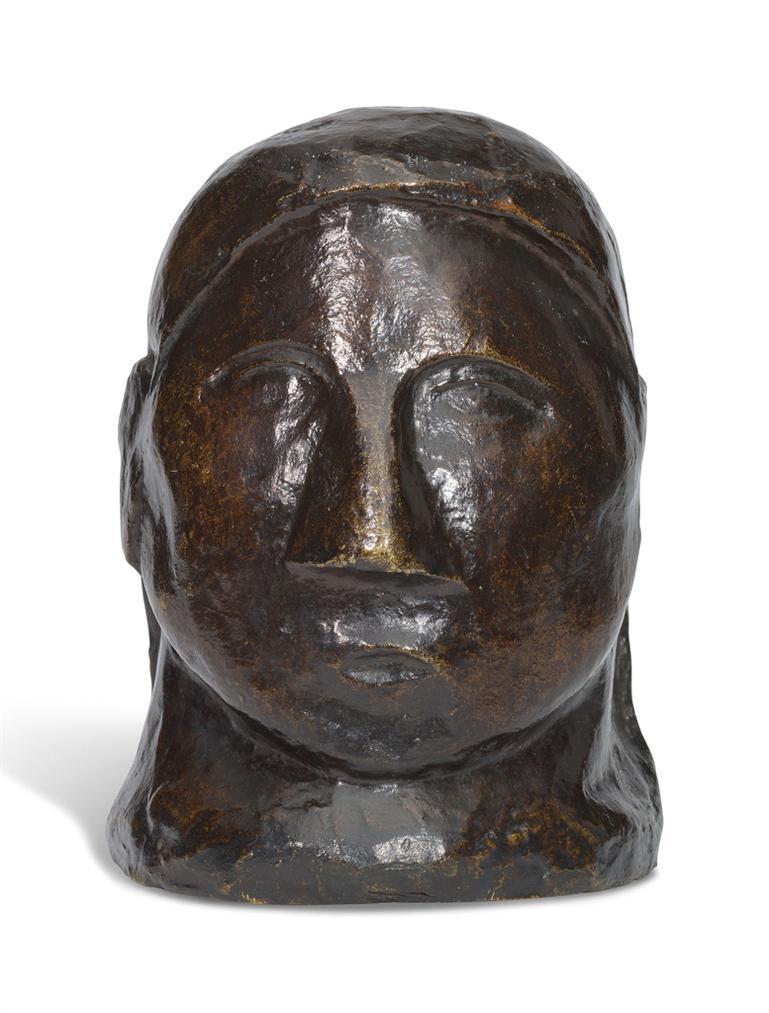 Pablo Picasso-Tete De Femme-1907