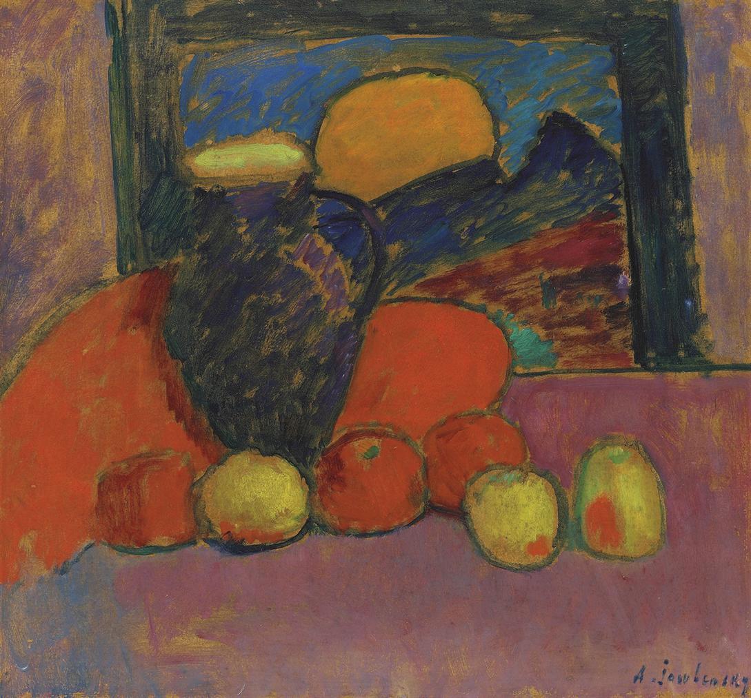 Alexej von Jawlensky-Stilleben-1910