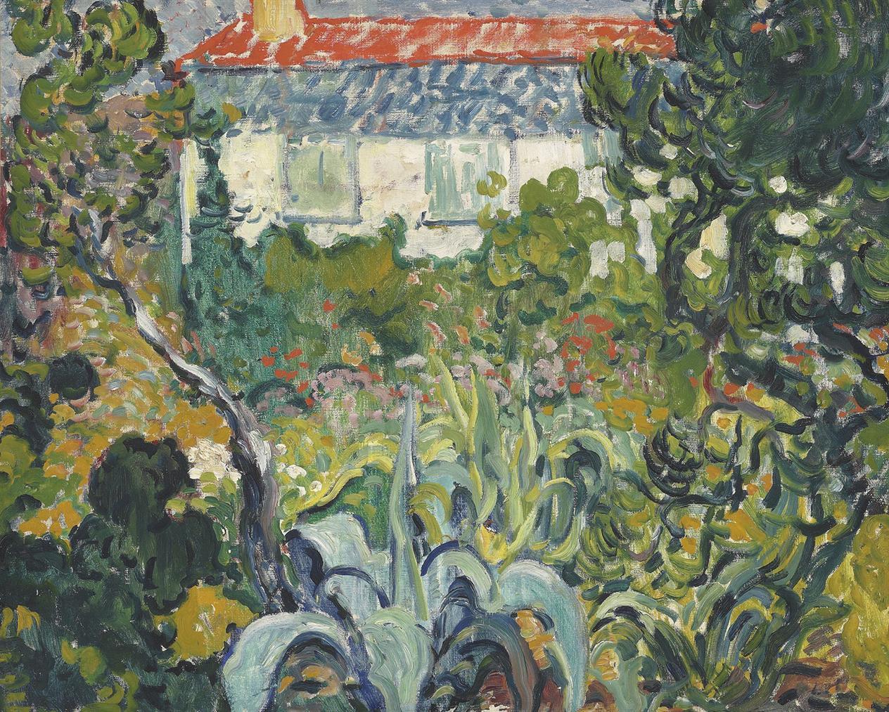 Louis Valtat-Le Jardin De La Maison Au Toit Rouge-