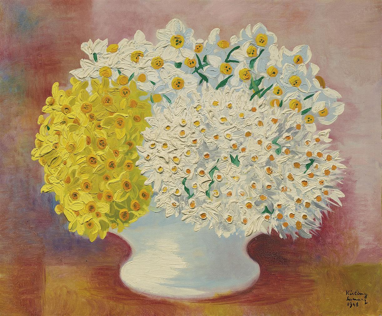 Moise Kisling-Narcisses-1948