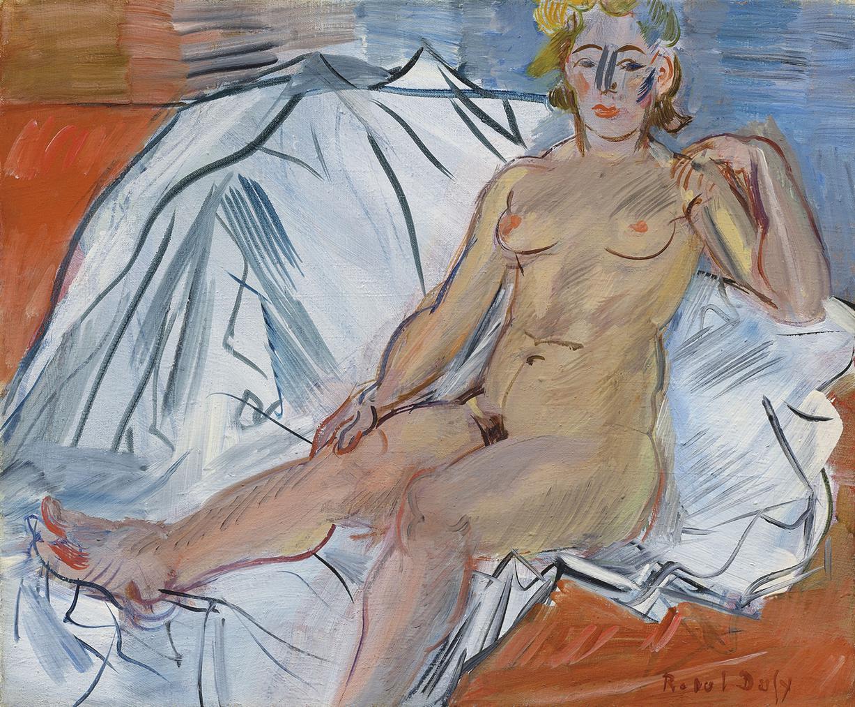 Raoul Dufy-Lespagnole-1944