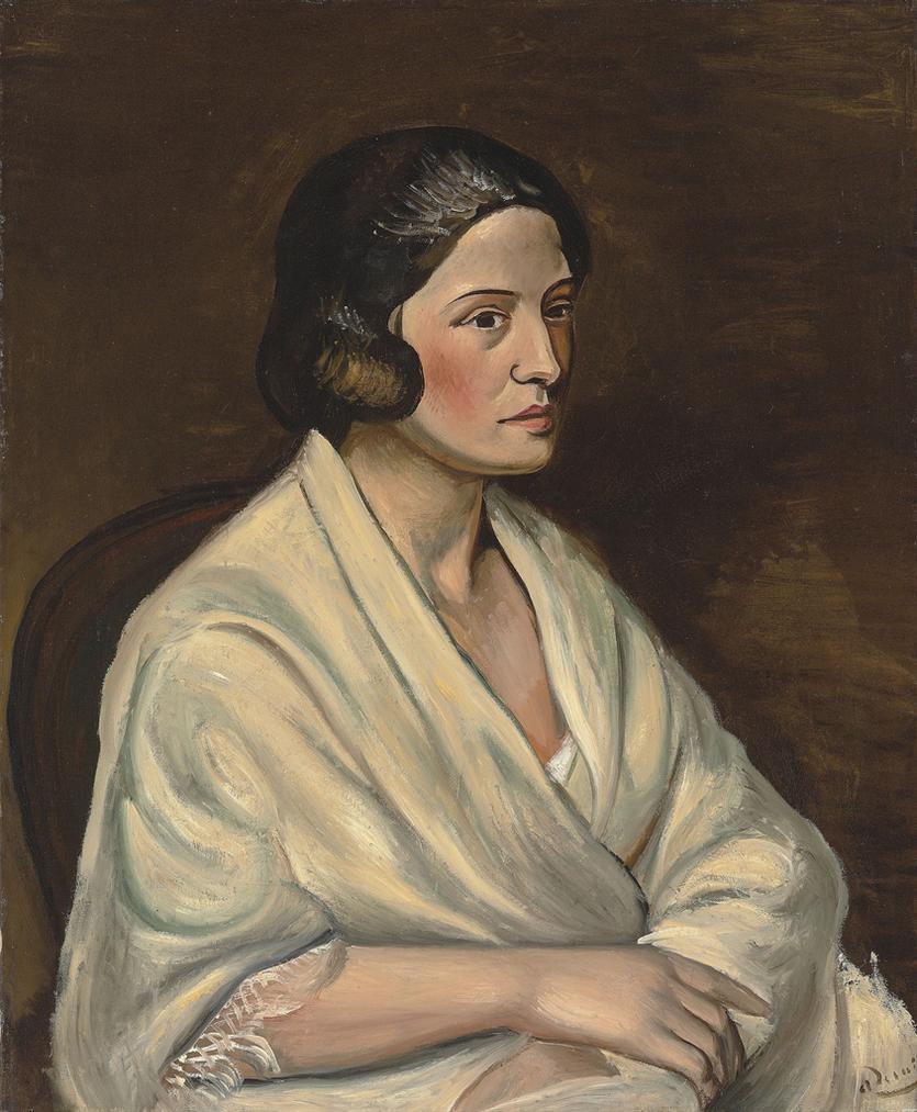 Andre Derain-Buste De Femme Au Chale-1925