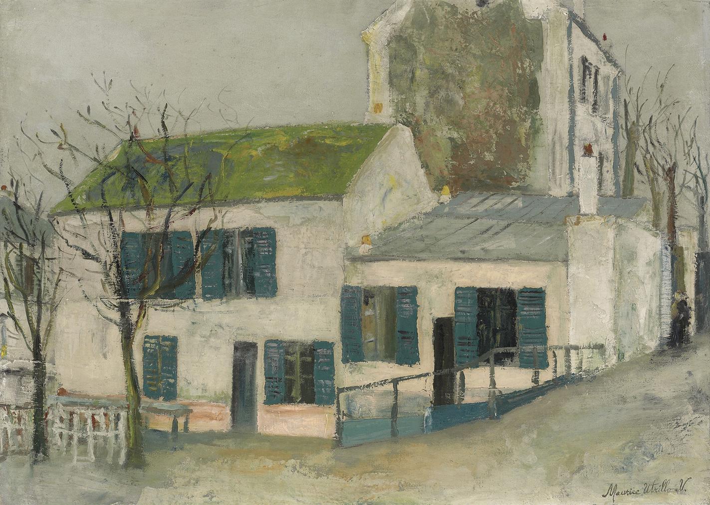 Maurice Utrillo-Le Lapin Agile A Montmartre-1911