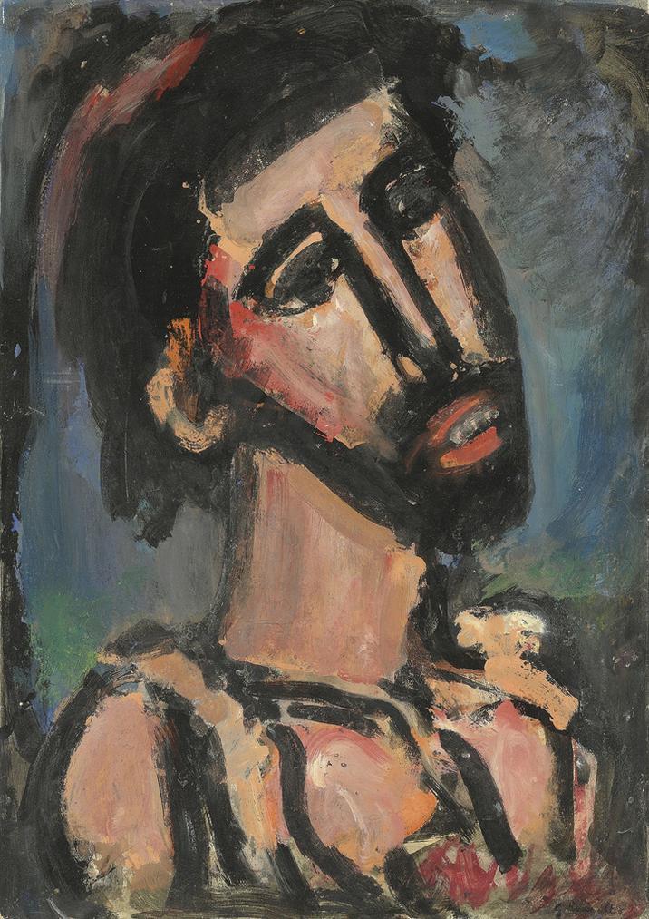 Georges Rouault-Saint Jean Baptiste-1939