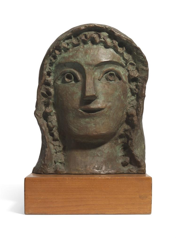 Andre Derain-Femme A La Coiffe-1912