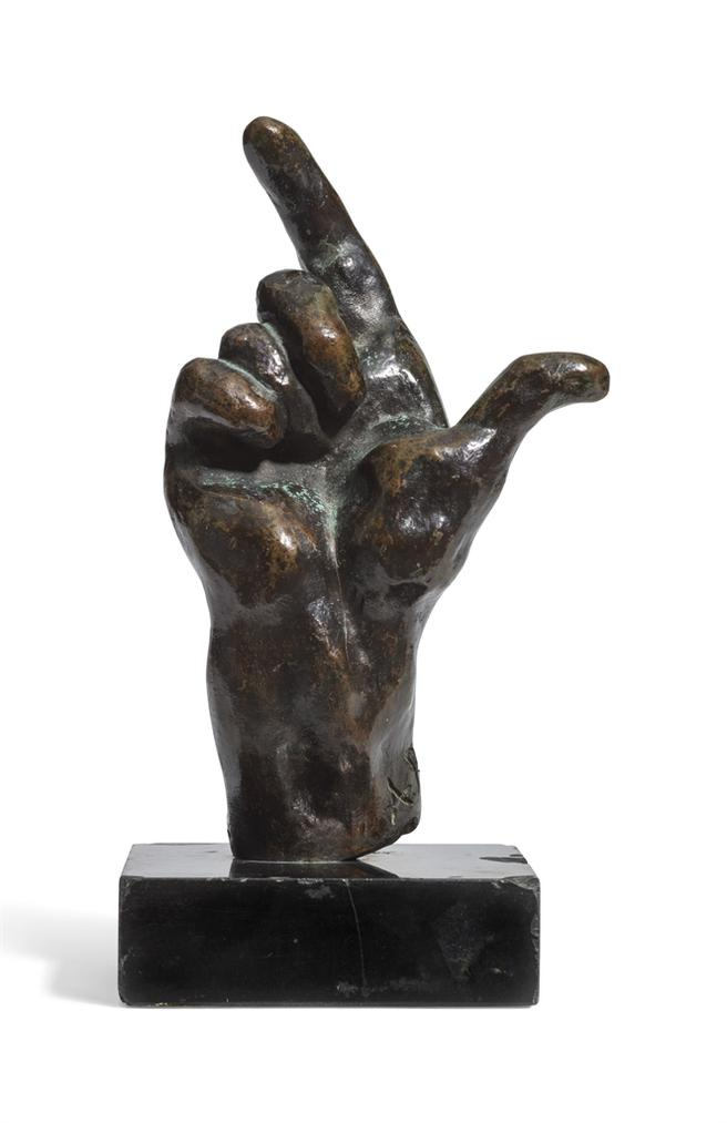 Auguste Rodin-Main Droite N. 27, Petit Modele-1962