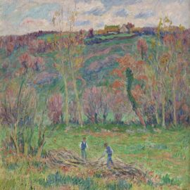 Henry Moret-Paysage Dhiver Vers Pont-Aven-1909