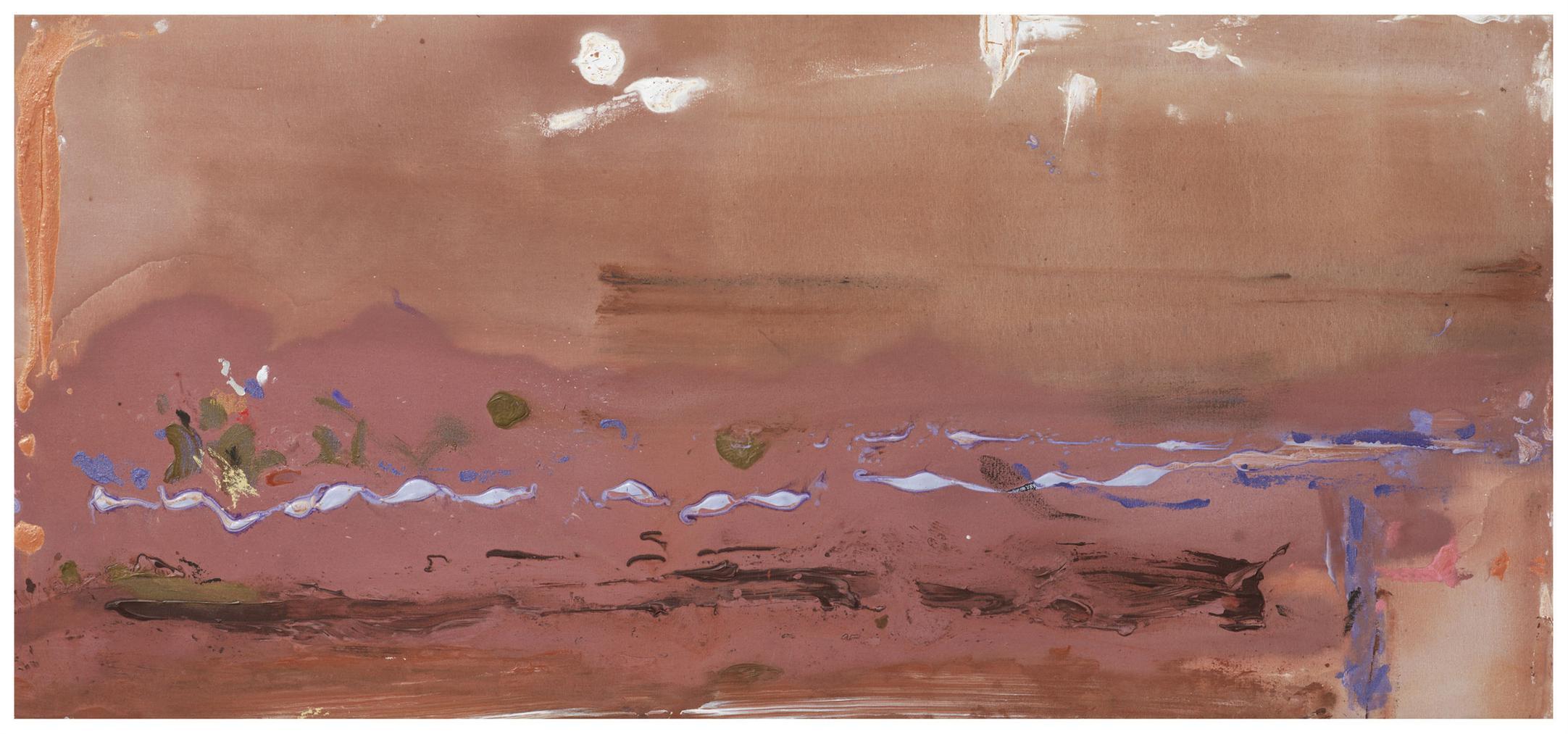 Helen Frankenthaler-Purple Sage-1982
