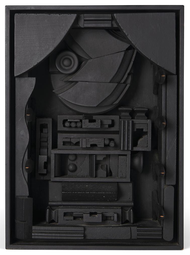 Louise Nevelson-Moon Garden Mirror II-1975