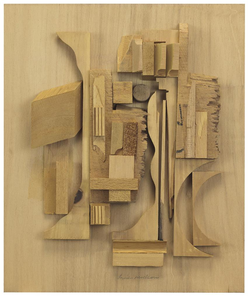 Louise Nevelson-Series Of An Unknown Cosmos XX-1979