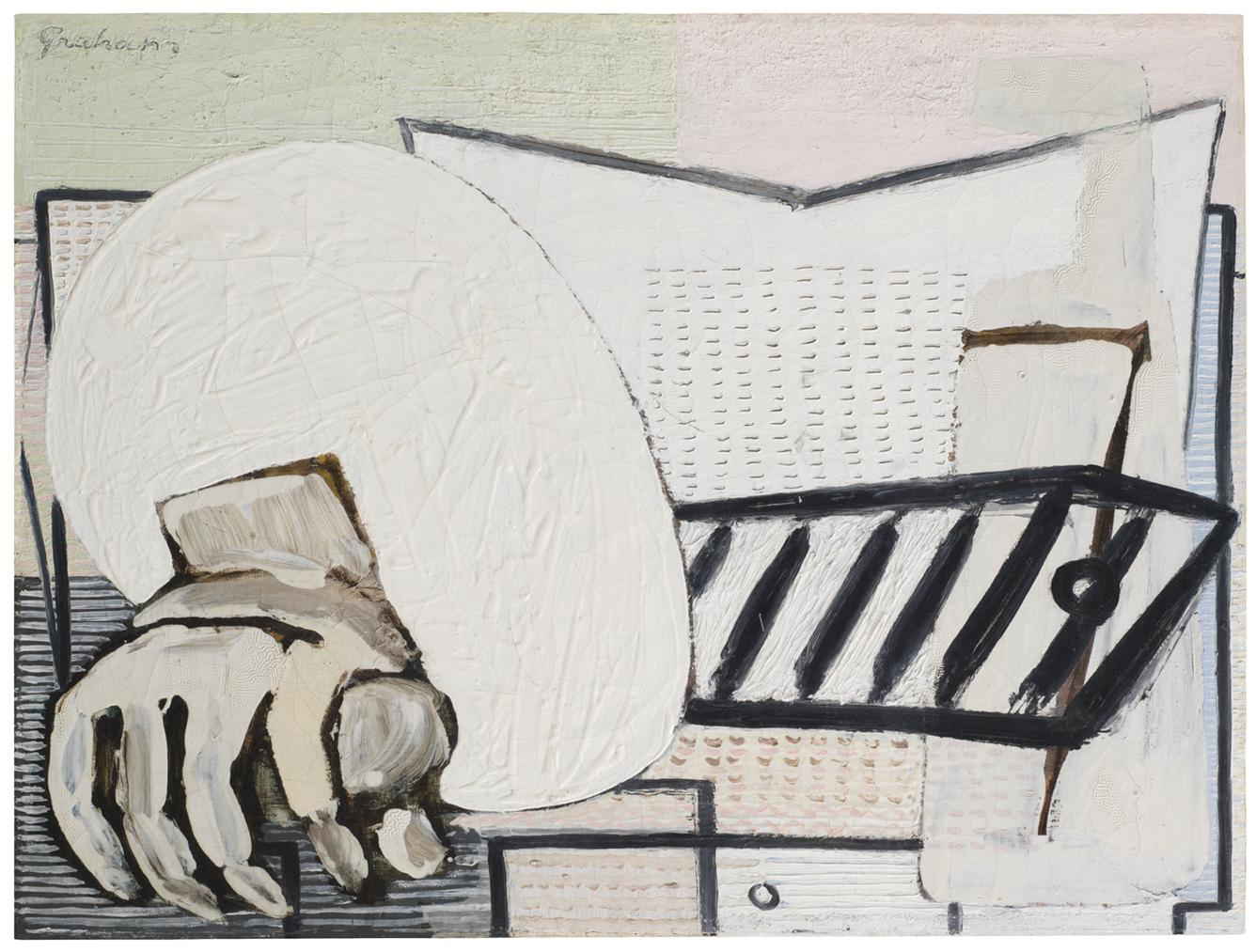 John D. Graham-Hand And Egg-1930