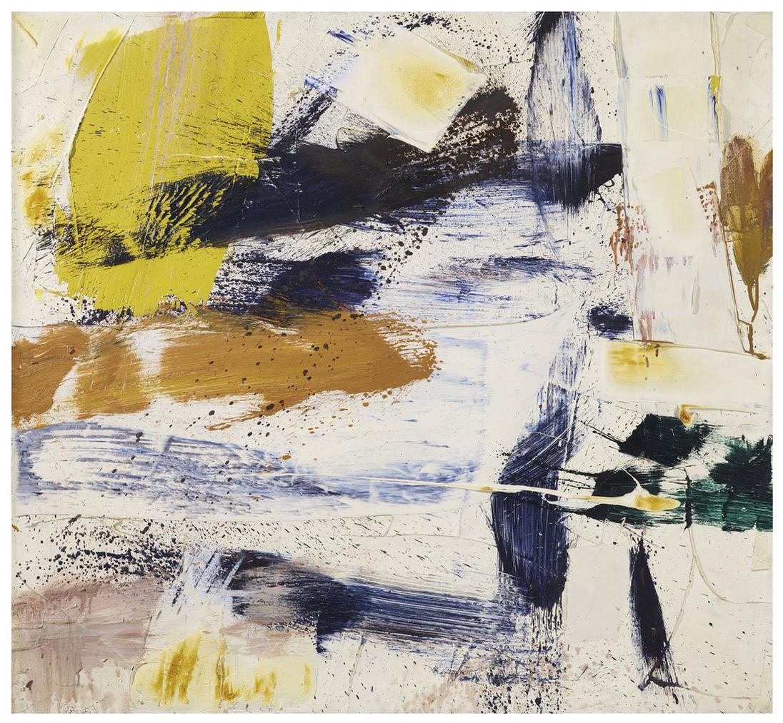 Michael Goldberg-Untitled-1959