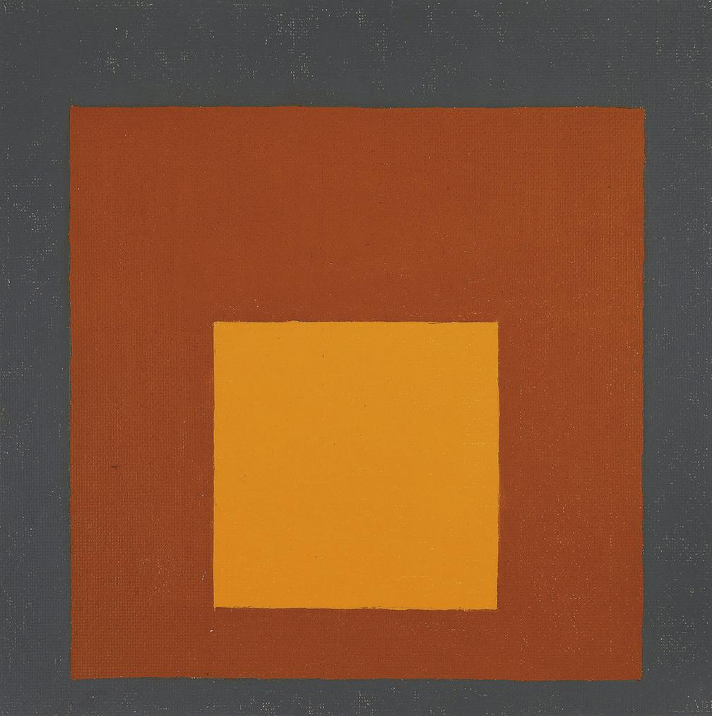 Josef Albers-Homage To The Square-1961