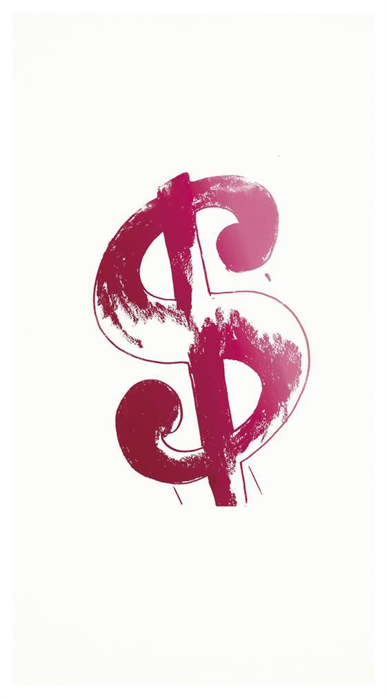 Andy Warhol-Dollar Sign-1982