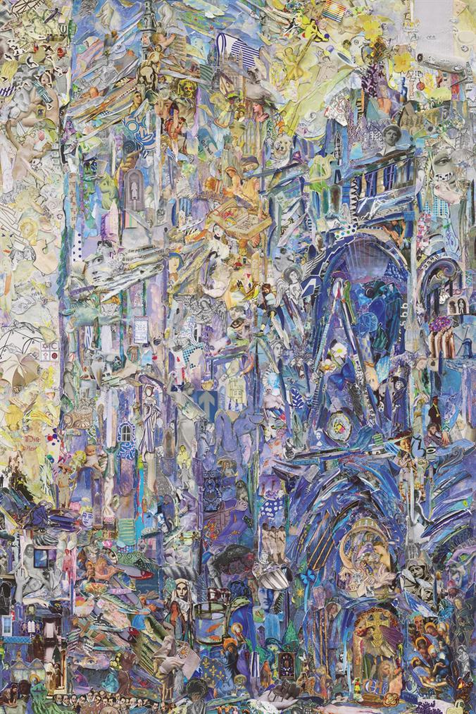 Vik Muniz-Rouen Cathedral (Monet Or The Triumph Of Impressionism, Daniel Wildenstein) P. 290. The Portal And The Tour Dalbane (Morning Effect), 1893 Series Of Repro-2016