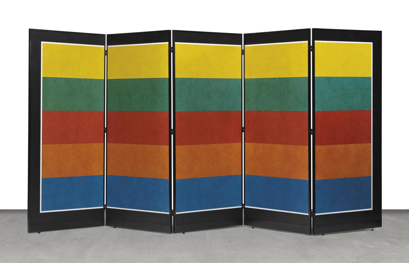 Sol LeWitt-Folding Screen C-5-1989