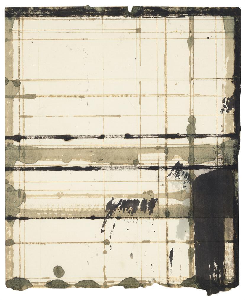 Brice Marden-Honeys Drawing-1984