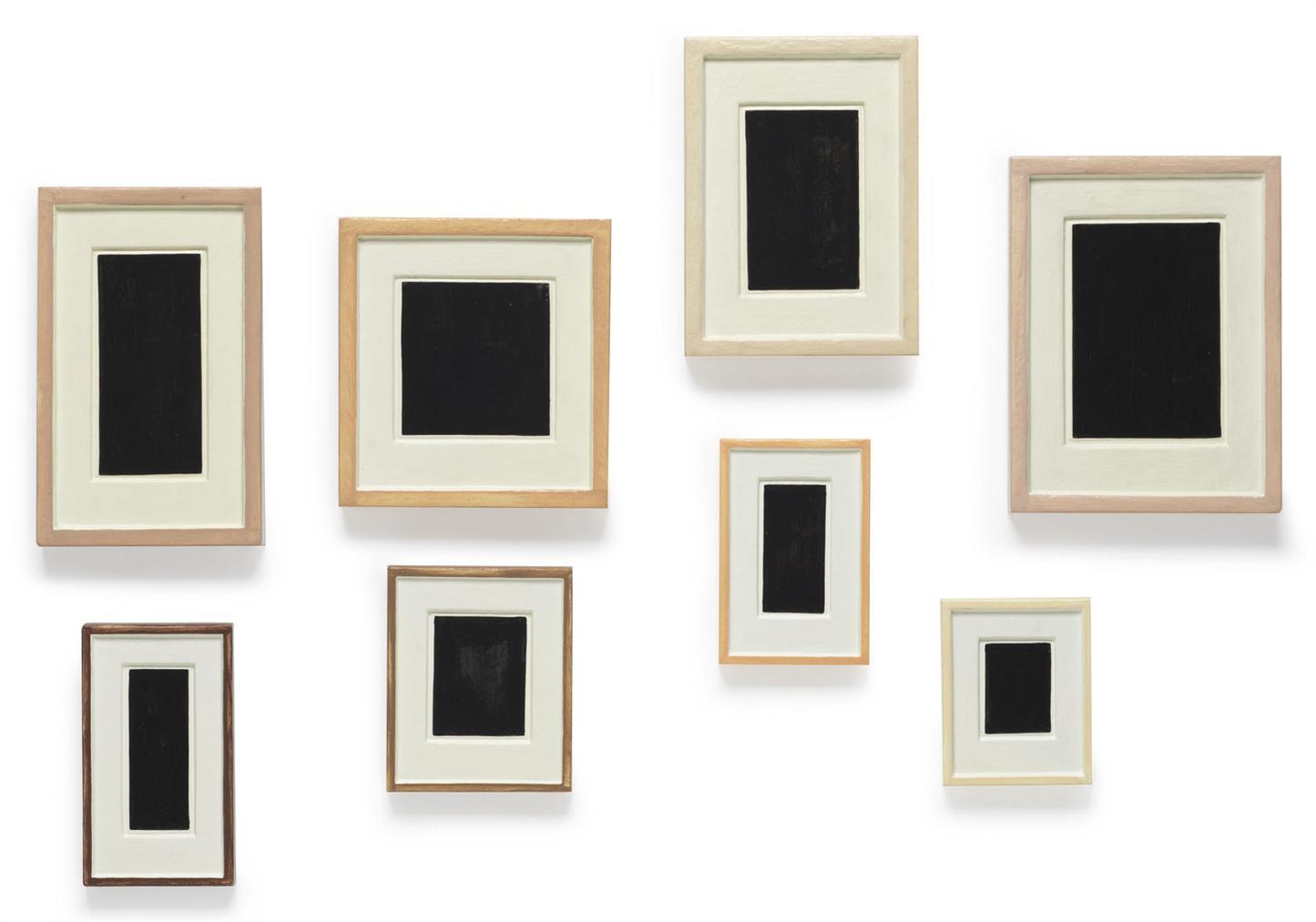Allan McCollum-Collection Of Eight Plaster Surrogates-1985