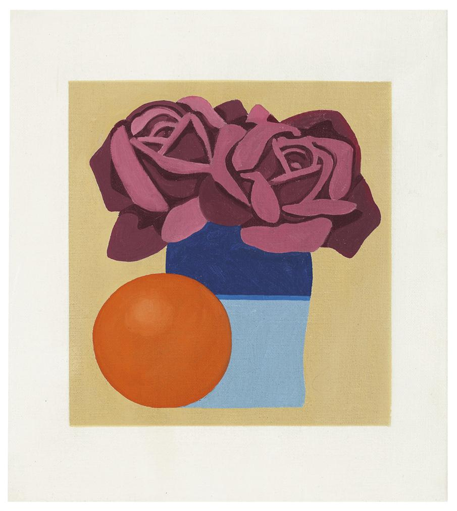 Tom Wesselmann-Study For Claires Valentine Banner-1972