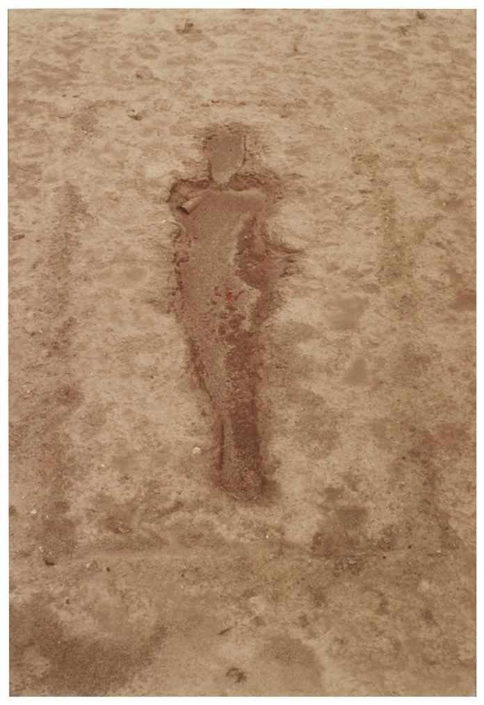 Ana Mendieta-Untitled: Silueta Series-1977