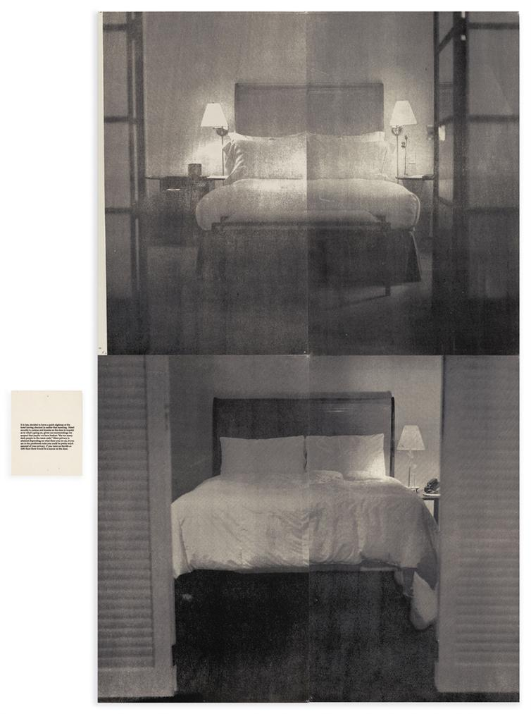 Lorna Simpson-The Bed-1995