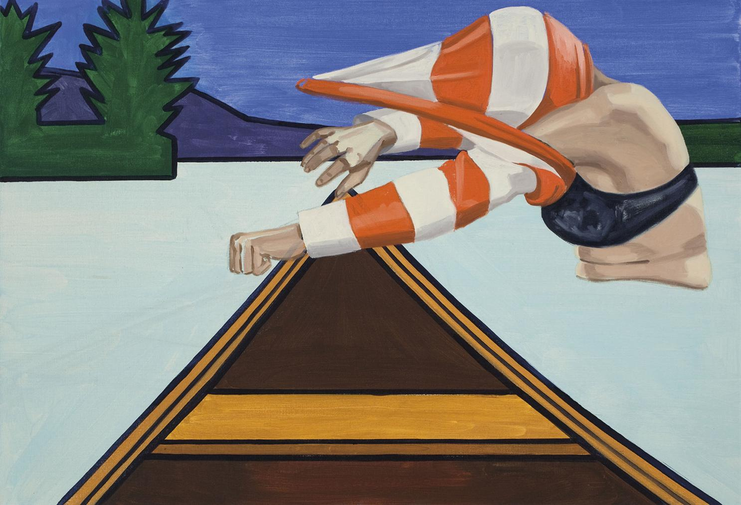 David Salle-Pull-Over-2010