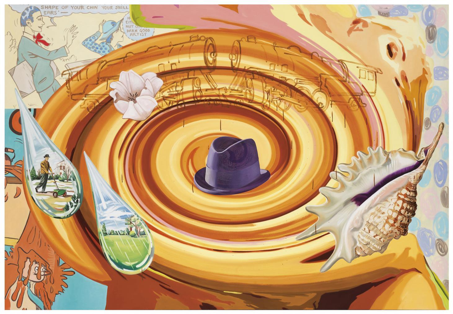 David Salle-Fertilizing Machine-2004