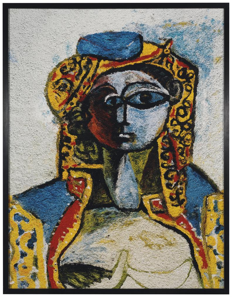 Vik Muniz-Jacqueline In Turkish Costume, After Picasso (Pictures Of Pigment)-2006
