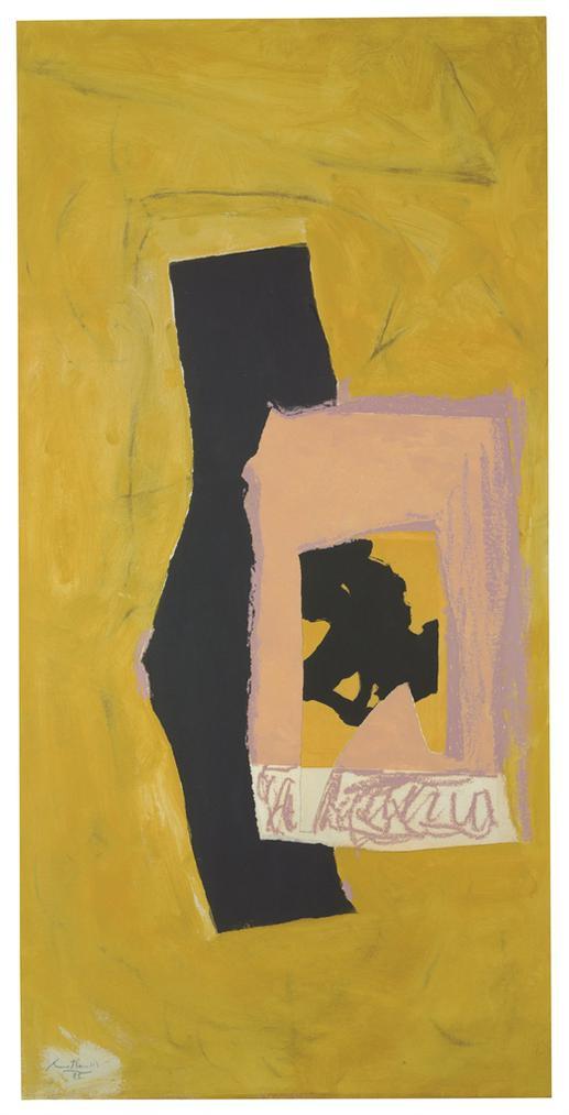 Robert Motherwell-Untitled-1985