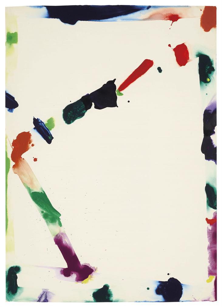 Sam Francis-Untitled (Tokyo)-1970