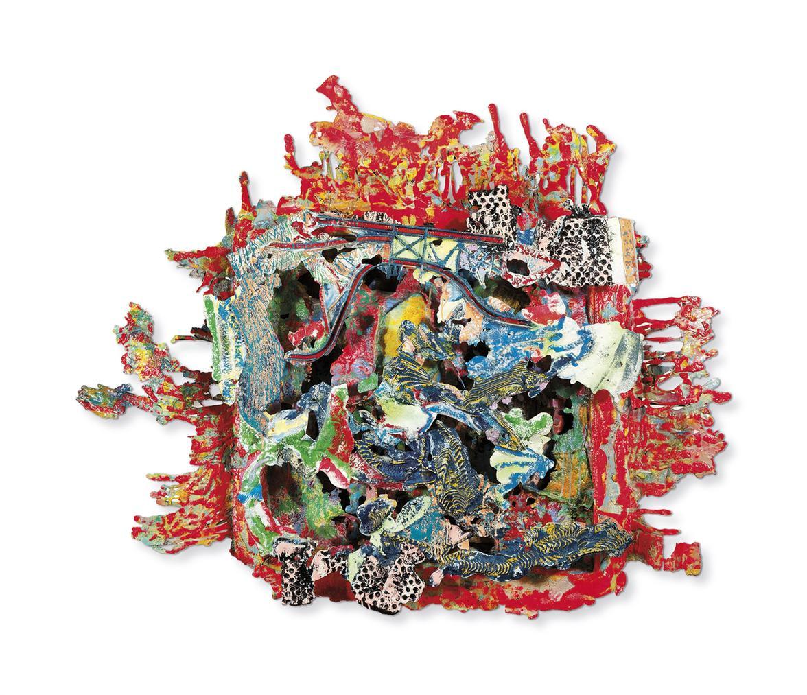 Frank Stella-Hacilar Level 1A-2001