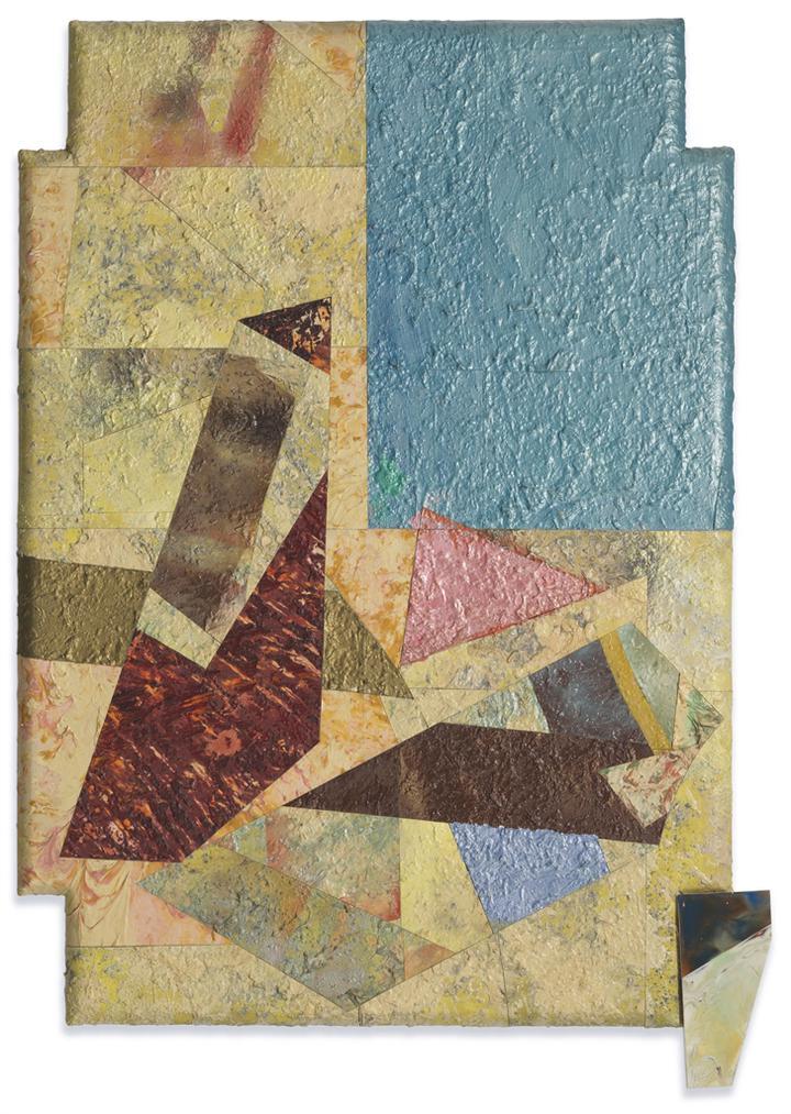 Sam Gilliam-Composition With A Rare Blue-1982